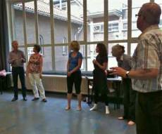 Lachworkshop bij Volksuniversiteit Arnhem