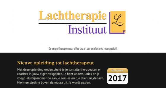 Lachtherapie opleiding