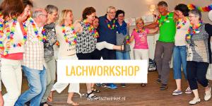 Lachworkshop met groep mensen