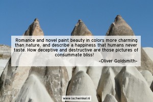 Romance and novel paint beauty in colors