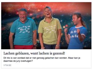 Belgiums Got Talent - Lachen is gezond