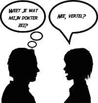 Weet je wat mijn dokter zei?